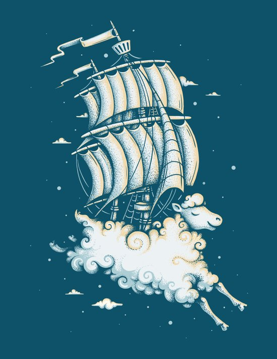 Shipped Away Art Print