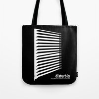 Disturbia Tote Bag