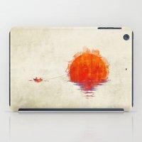 The Fisherman And His Bo… iPad Case