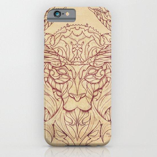 Lion Crab iPhone & iPod Case
