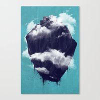 Floating City Canvas Print