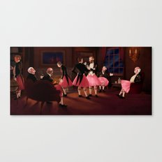 now, really. Canvas Print