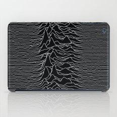 Unknown Radio Waves - Unknown Pleasures iPad Case