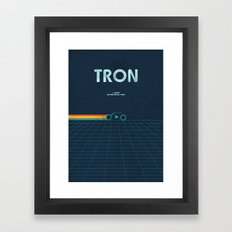 A MOVIE POSTER A DAY: TR… Framed Art Print