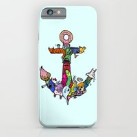 anchor iPhone & iPod Cases featuring anchor by ybalasiano