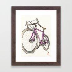 Straggler Framed Art Print