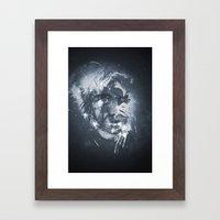 Cosmic Girl Framed Art Print