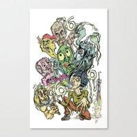 Sick Sick Sick Marc M. O… Canvas Print