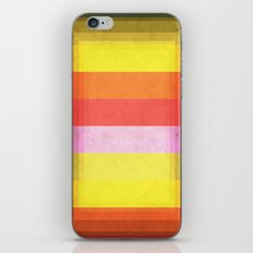 Warm Color Stripes iPhone & iPod Skin