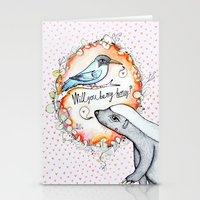 Be My Honey? Stationery Cards