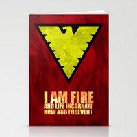 X-Men: Dark Phoenix - I am fire and life incarnate Stationery Cards