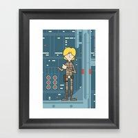 EP5 : Luke Skywalker Framed Art Print