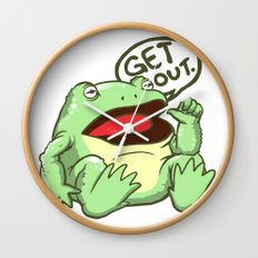 GET OUT. Wall Clock
