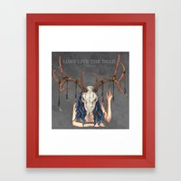Long Live The Dead - Dea… Framed Art Print