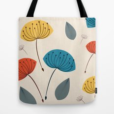 Dandelions in the wind Tote Bag