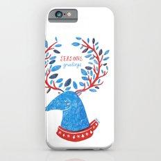 Reindeer Seasons Greetings iPhone 6s Slim Case