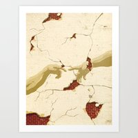 Fragility of Faith Art Print