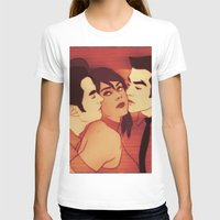 chooseonekorra Womens Fitted Tee White SMALL