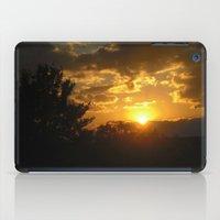 Silhouette Sunset iPad Case