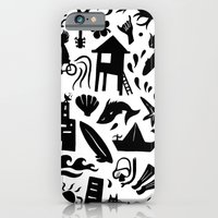 Sun, Surf, Sand iPhone 6 Slim Case