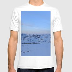 Glen Alps 2 Mens Fitted Tee SMALL White