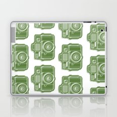 I Still Shoot Film Holga Logo - Green Laptop & iPad Skin