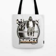 The Force Abides Tote Bag