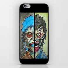 Two Half Zombie iPhone & iPod Skin