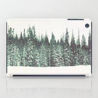 Snow on the Pines iPad Case