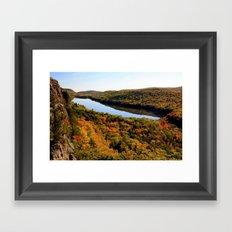 Autumn Splendor Framed Art Print