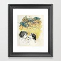Pleasure Delayer Framed Art Print