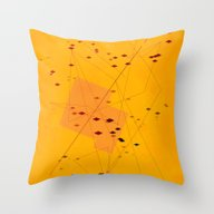 Throw Pillow featuring He Is Dealing Them Off 1 by R,oh
