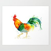 Chickens Series - Welsum… Art Print
