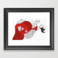 The Ear That Never Sleep… Framed Art Print