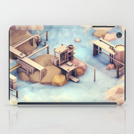 Port Harbor [Day] iPad Case