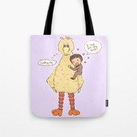 Romney loves Big Bird Tote Bag