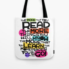 the more you that you read Tote Bag