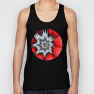 Crazy, Abstract Fractal … Unisex Tank Top