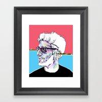 Dave 1 Of Chromeo Framed Art Print