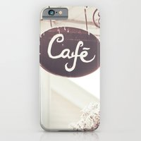 iPhone & iPod Case featuring Coffee Shop by JoyHey