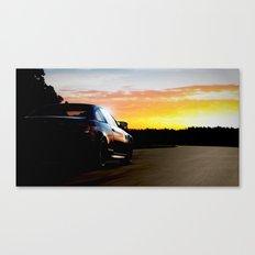 Hockenheim Sunset Canvas Print