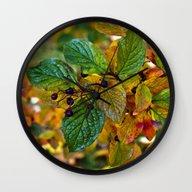 AUTUMNAL SYMPHONY Wall Clock