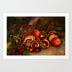 Autumn. Art Print