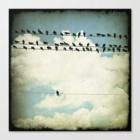 Many And One Canvas Print
