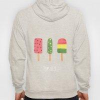 Fancy Popsicle Pattern Hoody