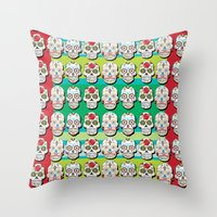 Calaveras Throw Pillow