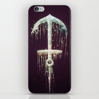 Upside Anchor iPhone & iPod Skin