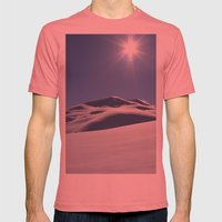 Tincan Peak Mens Fitted Tee Pomegranate SMALL