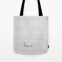 Haywire Tote Bag