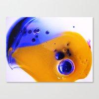 Yolk Canvas Print